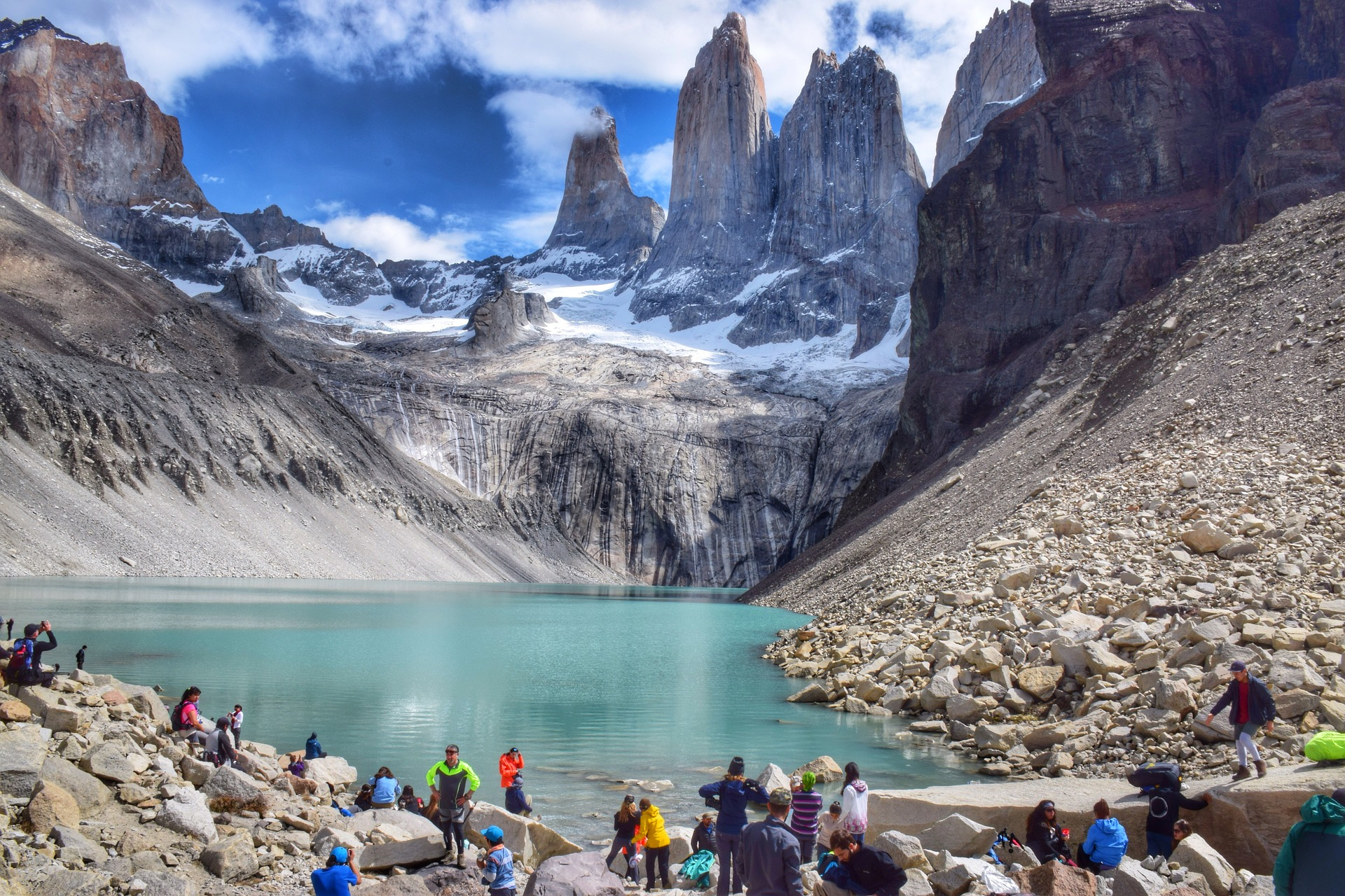 Taking in the wilderness of Patagonia